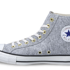 CONVERSE - ALL STAR P-FELT HI gray