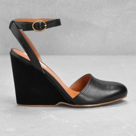 & Other Stories - Wedge sandals Black 1