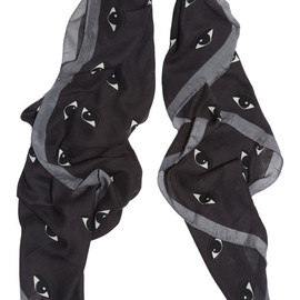 KENZO - New Eyes printed modal and cashmere-blend scarf