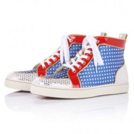 Christian Louboutin - Superball High Top Sneaker Multicolor