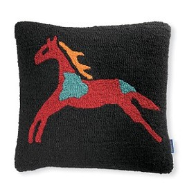 PENDLETON - Celebrate The Horse Hooked Pillow