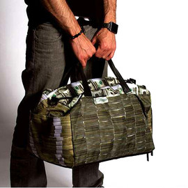 SPRAYGROUND - MONEY STACKS DUFFEL