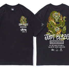 Stussy - STUSSY x MAGIC STICK x JUST BLAZE S/SL TEE