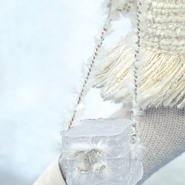 CHANEL - ice-cube shoulder bag / Chanel Fall 2010