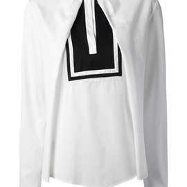 Chloé - stand-up collar blouse