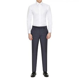 Gieves & Hawkes - WHITE PINPOINT TAILORED FIT SHIRT