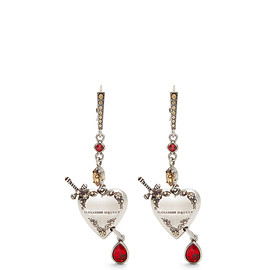 Alexander McQueen - Heart Locket earrings