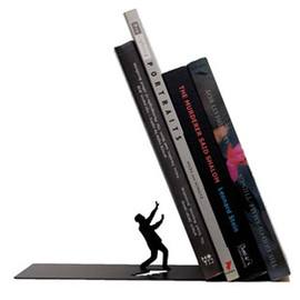 Animi Causa - Falling Bookend