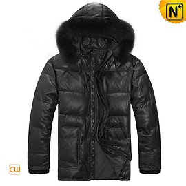 cwmalls - Canberra Mens Hooded Down Jacket CWMALLS