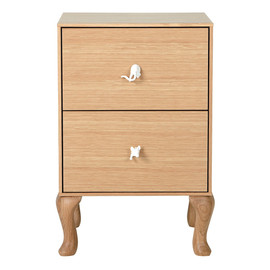 e.m. - moca wood side chest