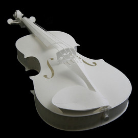 PePaKuRa - Paper-made Violin