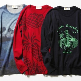 beautiful people, John Smedley, LAPIS BEAMS - beautiful people × JOHN SMEDLEY × LAPIS BEAMS