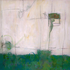 plans: in stages, 2007, mixed media on canvas