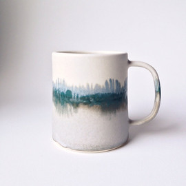 paper and clay studio - Limited Edition Winter Landscape Mug