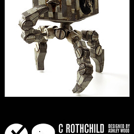 threeA Toys - WWR EVOL C Rothchild 4Square Jungle Crab