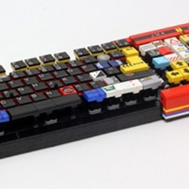 Jason Allemann - LEGO Parts Keyboard