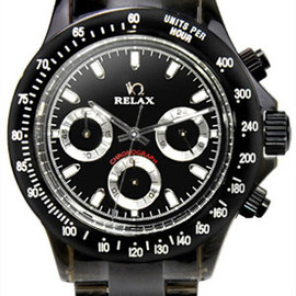 RELAX - Chronograph Lucid black