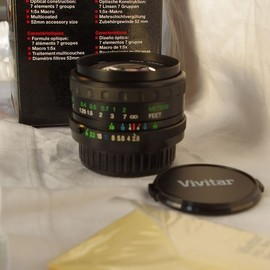 Vivitar - Auto Wide-Angle 24mm F2.8 for M42 mount