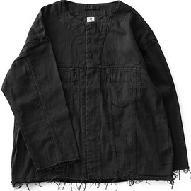 Sasquatchfabrix. - Denim Big Shirts:3rd Type (black)