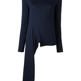Ports 1961 - V-neck asymmetric jumper