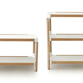 MAGIS - Steelwood Shelf