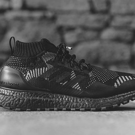 adidas, NONNATIVE, KITH - Ultra Boost Mid - Black/White?