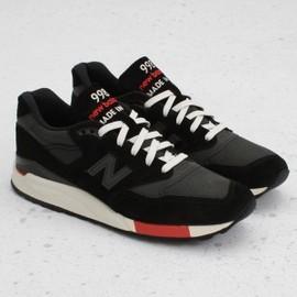 New Balance - M998 Black/Red (Made in U.S.A.)