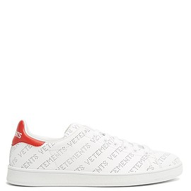 Vetements - SS2018 Low-top perforated-leather trainers Sneakers
