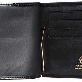 Glenroyal - MONEY CLIP WITHOUT COIN PURSE 03-4962 BLACK(PATENT)
