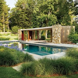 SPaN Architects - Pool House, New England, USA