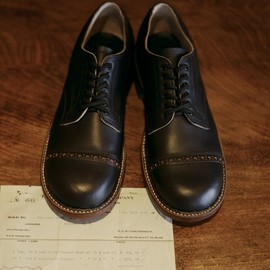 WHITE'S  - OXFORD CAP TOE SHOES