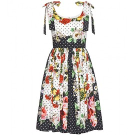 DOLCE&GABBANA - Printed cotton dress
