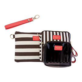 Henri Bendel - SIGNATURE STRIPE CANVAS TRIO SET