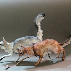 Ellen Jewett - Cat or Pet Sculpture (small)