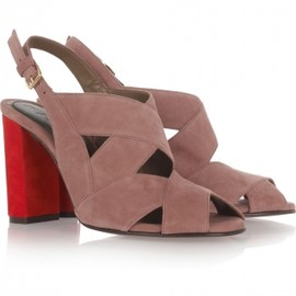 MARNI - Two-tone suede sandals