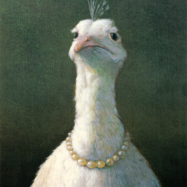 Michael Sowa - Fowl With Pearls