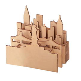 MUJI - New York cityscape pen stand