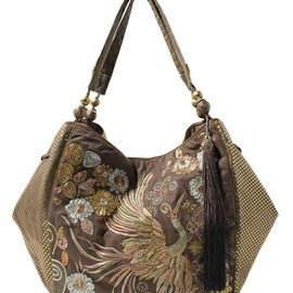 Accessorize - Chinoise Pheonix Emb Shoulder Bag