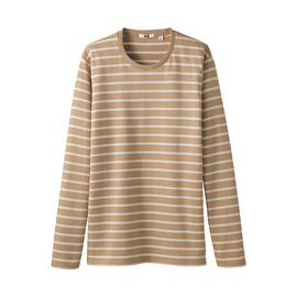 UNIQLO - Stripe crew neck L/S T shirt A