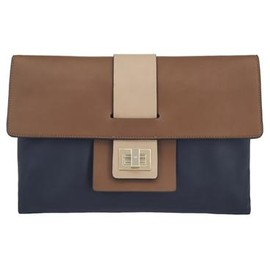 ANYA HINDMARCH - Gloria Clutch - Midnight