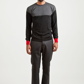MARNI - Wool Sweater Carbone