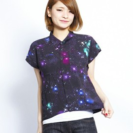 X-girl - NIGHT OUT BIG SHIRT