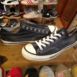 "converse - 「<used>60's converse CHUCK TAYLOR OX black""made in USA"" size:US11/h(30cm) 39800yen」完売"