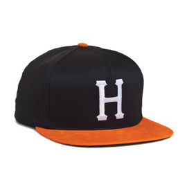 HUF - BIG H SNAP BACK (Black/Orange)