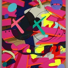 "KAWS - ""Down Time"""