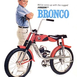Mattel - Bronco mini bicycle bike