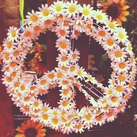 Hippie Peace Sign