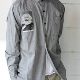 PEEL&LIFT - Communist Shirt (gray)