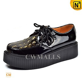 Cwmalls - Mens Creeper Platform Shoes CW721613 - cwmalls.com