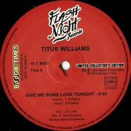 TITUS-WILLIAMS - GIVE-ME-SOME-LOVE-TONIGHT